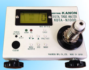 Digital torque analyzers for electric drivers